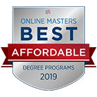 Online Master 2019 Most Affordable Badge