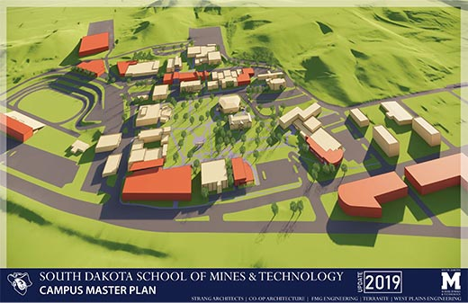 SD Mines Campus Master Plan 2019