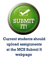 Submit It for Current Students