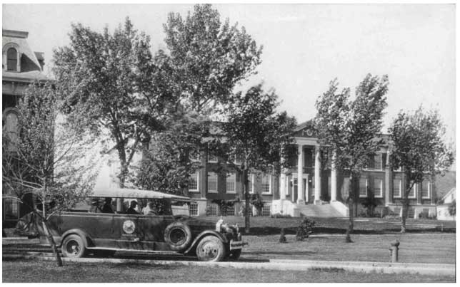History The Engineering Building Circa 1930