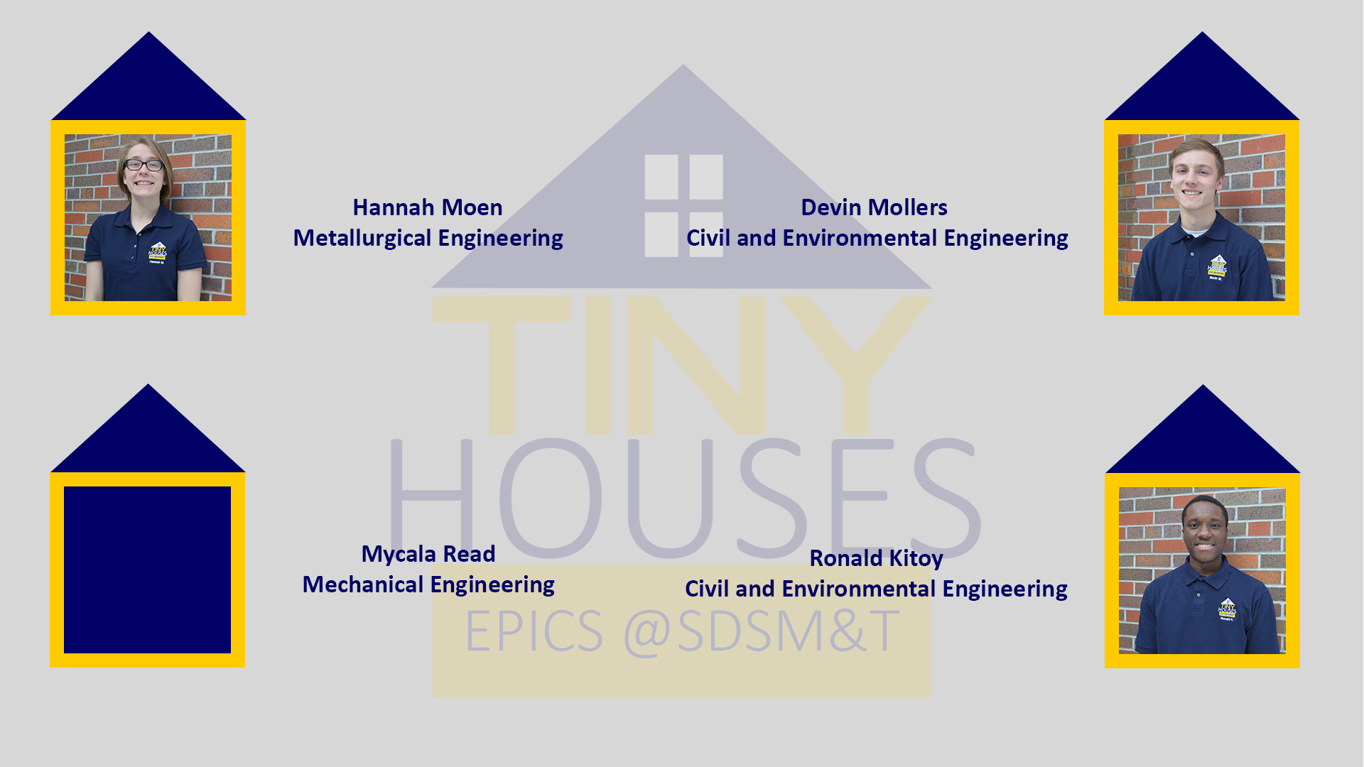 Tiny House Board Spring 2018