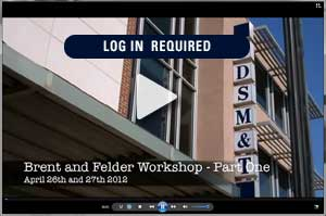 Brent and Felder Workshop Videos