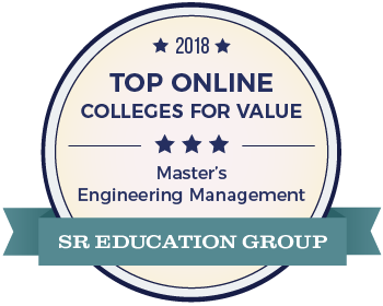 Masters engineering management best value badge