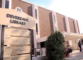Deveraux Library CTA Photo