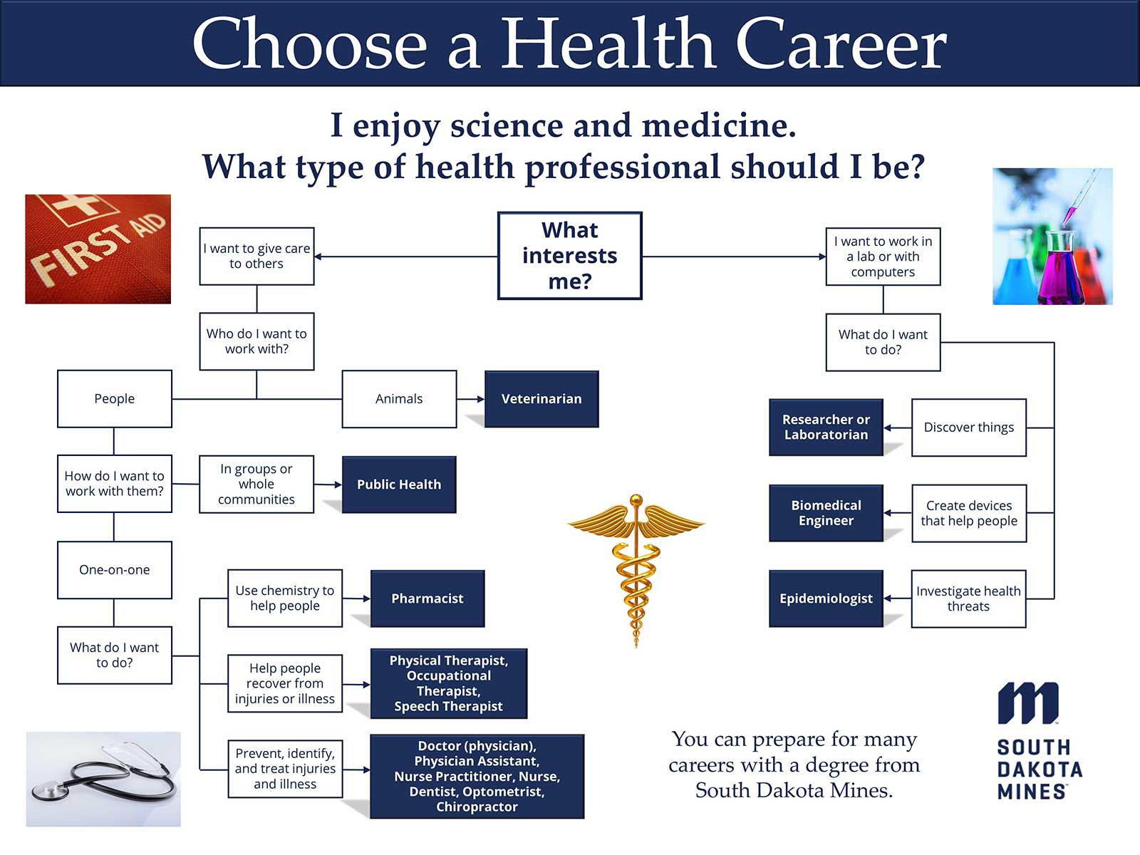 Health Career Flowchart