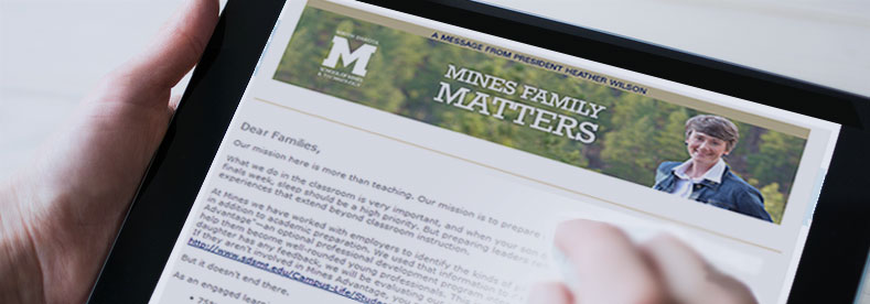 Mines Family Mailing List