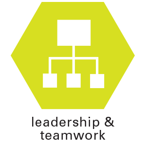 leadership and teamwork icon