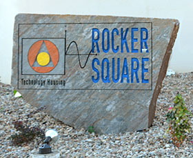 Rocker Square sign