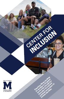 Center for Inclusion Brochure cover