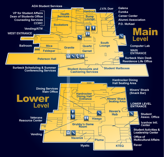 Surbeck Center Map