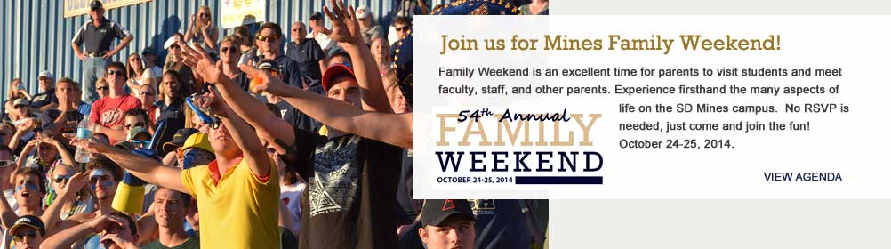 102014 Mines Family Weekend
