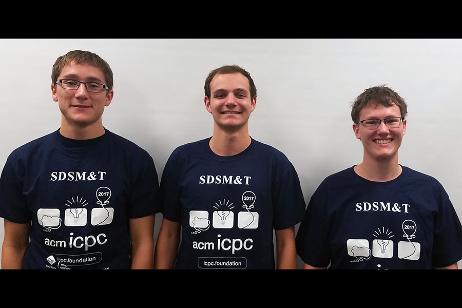 SD Mines Qualifies for 2018 ICPC World Finals in Beijing, China