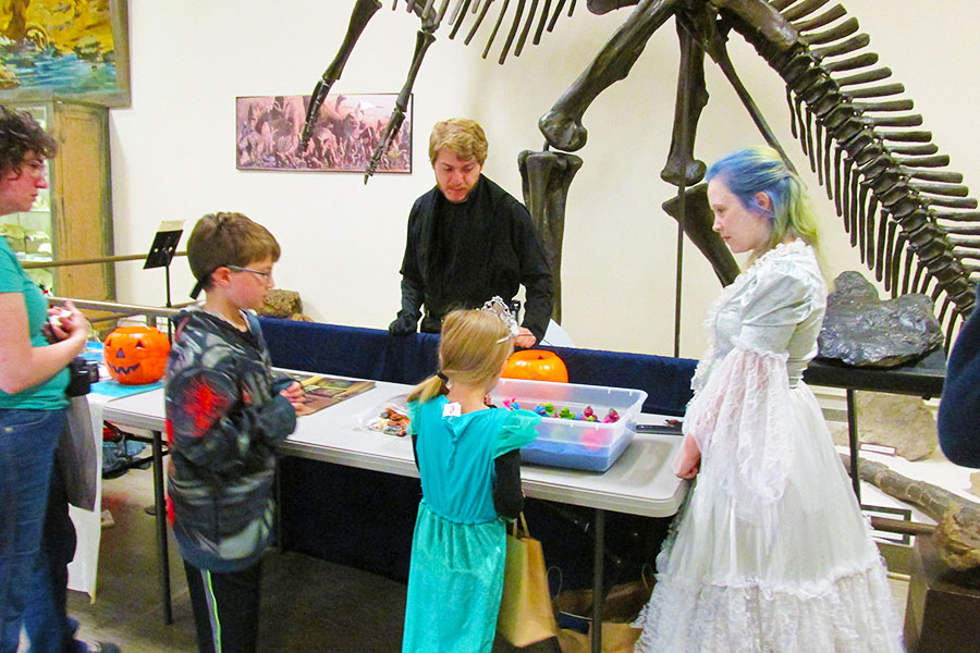Night at the Museum Features Trick or Treating with the Dinosaurs