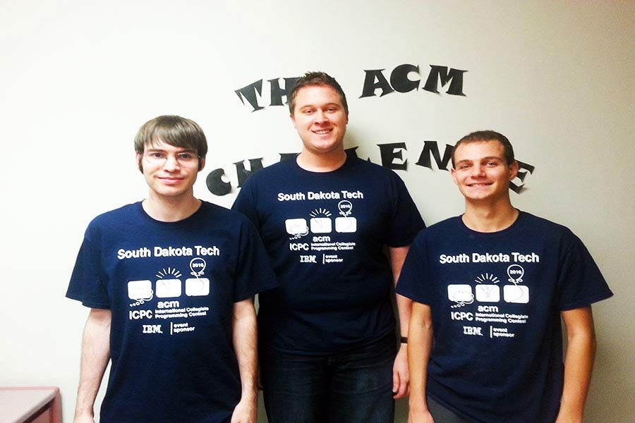 SD Mines Programming Team Battles World's Best Coders at ICPC