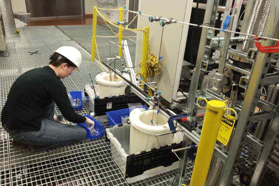 SD Mines Researchers Help Ensure a Clean Signal in Next-Gen Dark Matter Detector at Sanford Lab