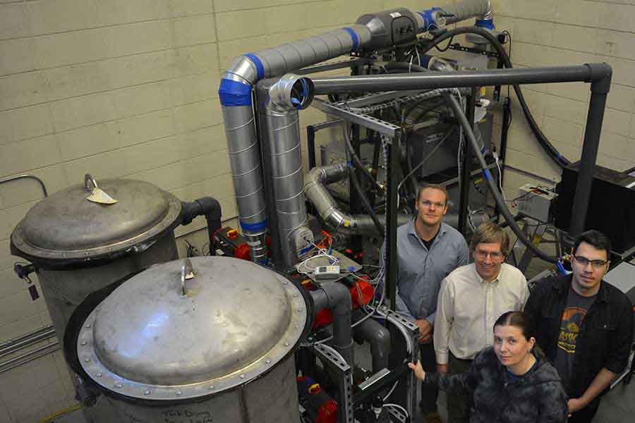 SD Mines Helps Keep Two of the World's Most Sensitive Dark Matter Experiments Clean
