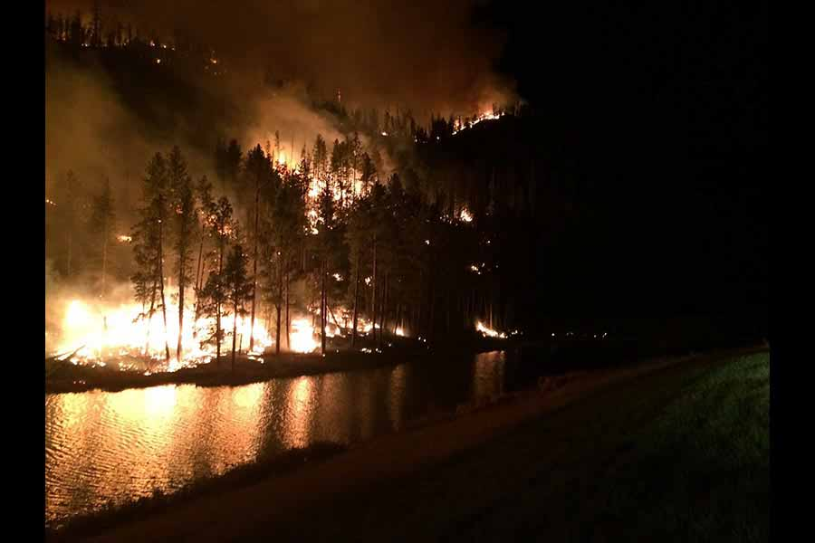 SD Mines Professor Helps Invent New Tool to Better Prevent and Fight Wildfire