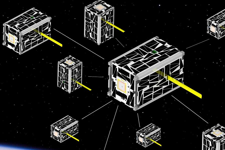 SD Mines Team Pushes to Put CubeSat Swarm in Space