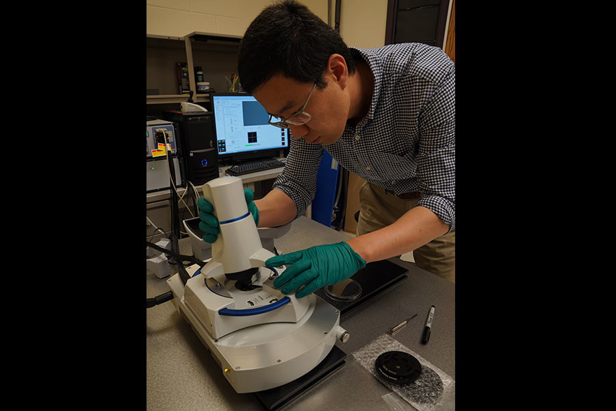 SD Mines Researcher Develops New Technology to Detect Bone Loss in Astronauts, Potentially Screen for Early Cancers